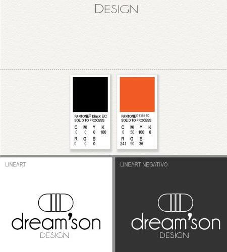 Dream'son design Logo Identity